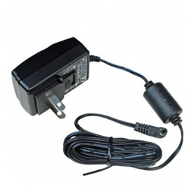 Desco #50480 - Power Adapter With N.America Plug, 100 - 240VAC In, 12VDC 0.50A Out