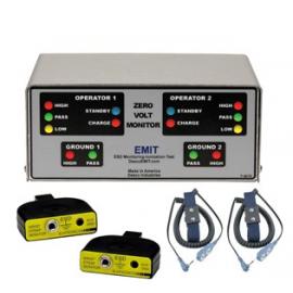 Desco #50537 - Zero Volt Continuous Monitor With (2) 19690 Wrist Strap Kits, No Adapter