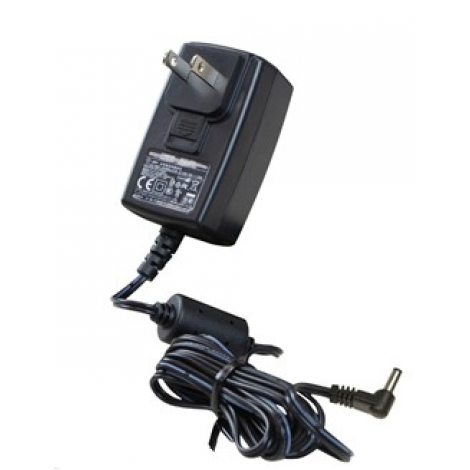 Desco #50489 - Power Adapter With N.America Plug , 100 - 240 VAC In, 12 VDC 1.25 A Out