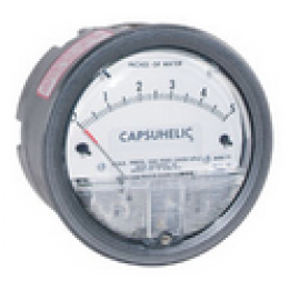Series 4000 Capsuhelic® Differential Pressure Gage