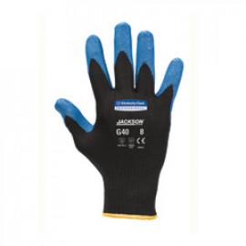 JACKSON SAFETY* G40 Blue Nitrile Foam Coated Gloves