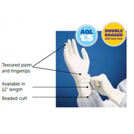 KIMTECH PURE* G3 Sterile White Nitrile Gloves