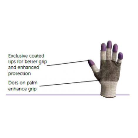 JACKSON SAFETY - G60 Purple Nitrile  - Level 3 Cut Resistant Gloves