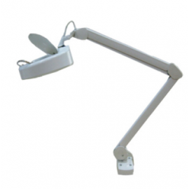 Laxo #METAL-RD101AX 5X 230 V Magnifying Lamp C/W Single Arm