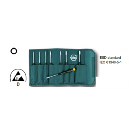 Wiha #Set 8 Pcs. Metric Nut Driver Precision ESD Safe Dissipative Handle