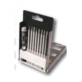 Wiha #Slotted, Phillips and Precision Interchangeable Blade Set, 9 Pcs.