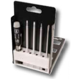 Wiha #Slotted & Phillips Precision Interchangeable Blade Set, 5 Pc